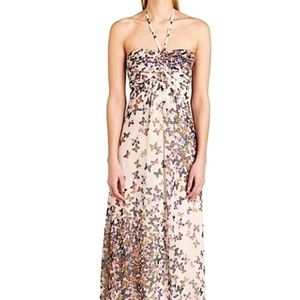 Ted Baker London Calipso Butterfly Maxi Dress XS 2